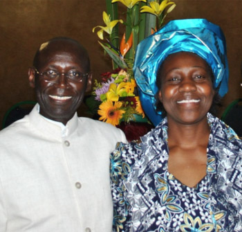 Pastor Samuel Misiani and Eunice Misiani – Head Deaconess/Prayer Ministry Leader
