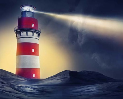 Cropped Lighthouse